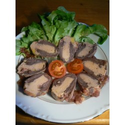 5 Coeurs de Canard Fourré au Foie Gras