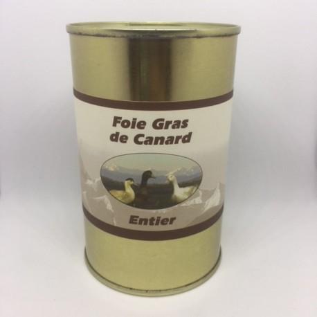 Foie Gras de Canard Entier 400 g (boîte)