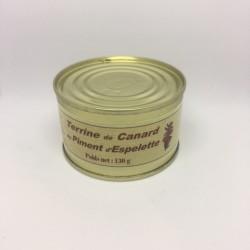 Terrine de Canard au Piment d'Espelette