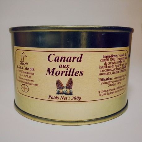 Canard aux Morilles