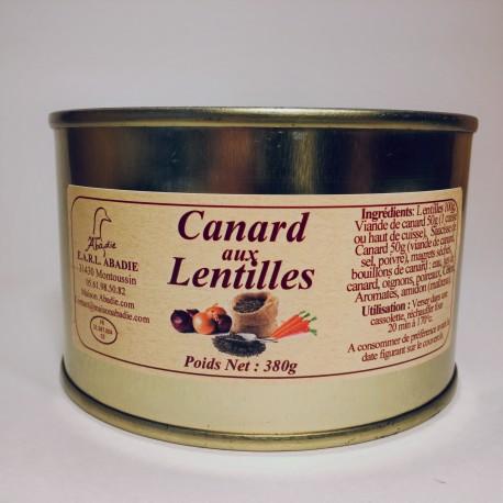 Canard aux Lentilles